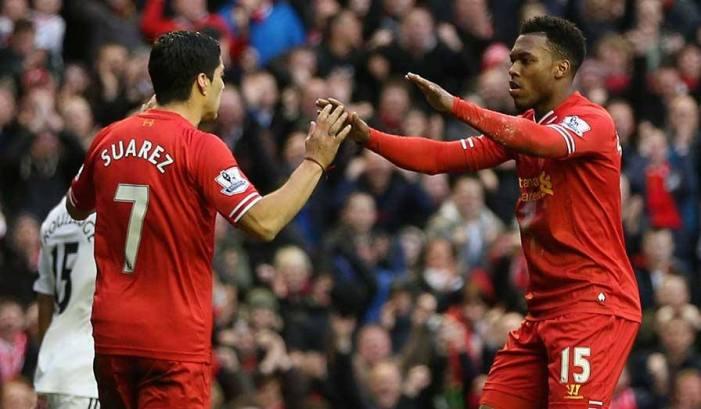 Partidazo. Liverpool sacó adelante un cotejo a puro gol ante Swansea City y lo pone a pelear el título. (Foto: Premier League)